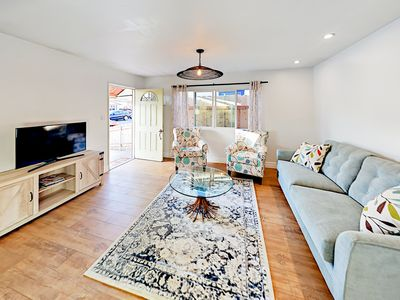Living Room - Welcome to Pismo Beach! Your home is professionally managed by TurnKey Vacation Rentals.