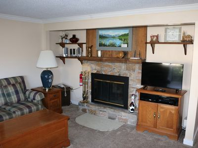 Photo for Charming Condo Just a Short Walk from the Slopes, Golf Course and More!