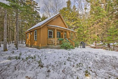 Escape to Mt Desert Island at this 1-bedroom, 1-bathroom vacation rental cabin.