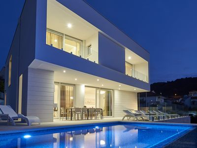 Photo for Beautiful villa with sea view 2 minutes from the centre of Trogir- Villa Trogir