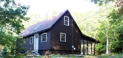 Photo for Spectacular Boothbay Harbor Cabin, Outdoor Shower, Beach & Dock Access, Mooring