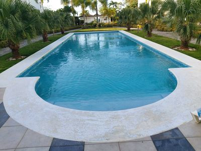 Photo for Sea Front one bedroom apartment on beautiful Punta Popy