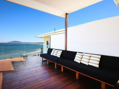 Photo for Coolangatta Beach House - view across the ocean