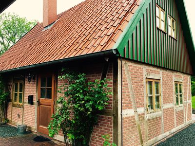 Photo for Healthy living in Sankt Peter-Ording. Slowing in eco-timbered house