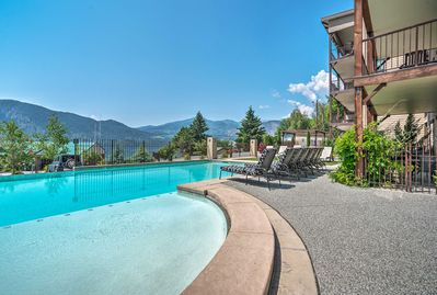 Mountain vistas and days by the pool await.