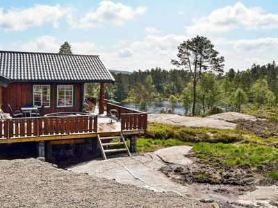 Photo for Vacation home Bjelland in Bjelland - 9 persons, 4 bedrooms