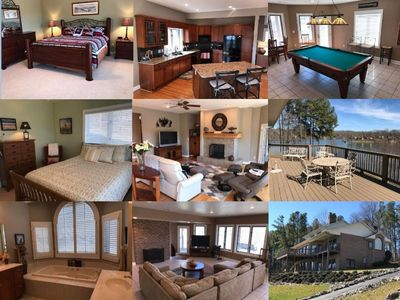 Photo for Beautiful 4 bedroom home on Smith Mountain Lake
