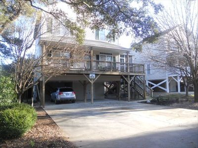 Photo for Private Home in Surfside, Short Walk to Beach, 4 Car Parking.