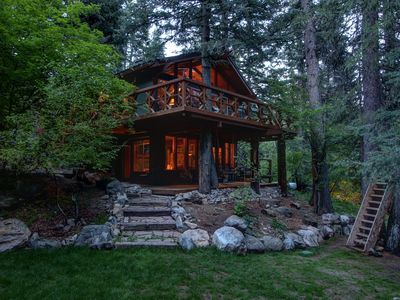Photo for Streamside location perfect for family gatherings.  5 minutes to Sundance Resort
