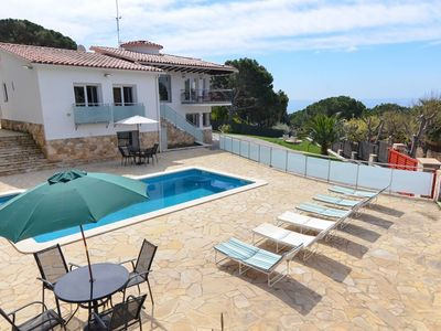 Photo for Club Villamar - Beautiful and attractive 5-bedroom villa with private pool and wonderful sea view...
