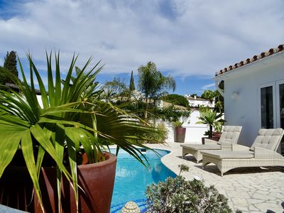 Photo for VILLA OASIS SEA VIEW 3 BED PRIVATE HEATED POOL  LA CALA DE MIJAS by SOLRENTSPAIN