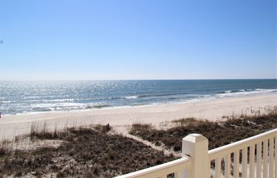 Photo for 5 BR, 5 BA, beachfront that sleeps 16.  Great location!