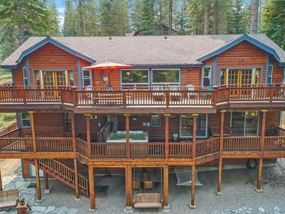 Photo for 🌟4000 Sq Ft Luxury Home: Family and Pet-friendly Cabin 🌟 Enormous Game Room 🌟