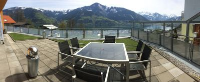 Photo for Haus Daisy - stunning views of lake and mountain with large private terrace.