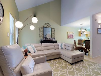 Photo for Gorgeous and dog-friendly townhome with shared pool and playground