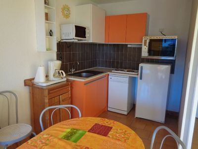 Photo for Spacious cabin studio, 4 people, LES INDES GALANTES residence