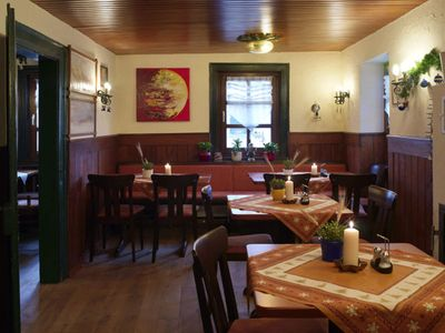 Photo for 3 bed room - Adler guest room Hotel Biergarten