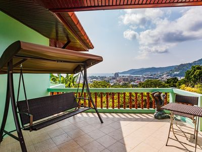 Photo for Vista Villa 2 - Sea view Patong house for 4 guests in quiet neighbourhood