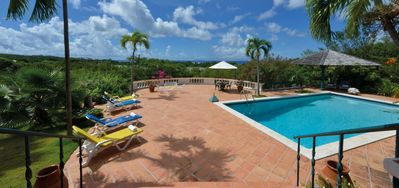 Villa Les Zephyrs  -  Ocean View - Located in  Stunning Terres Basses with Private Pool