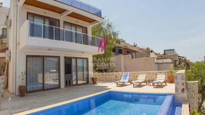 Photo for Villa Marguerite - 3 bedroom villa minutes from the sea situated in Kalamar