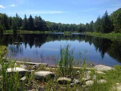 Photo for Private, centrally located home on MDI near Acadia, walking distance to Pond