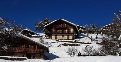 Photo for Beautiful Chalet 12 people on sun slope with panoramic views