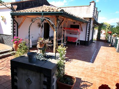 Photo for 2 bedroom Villa, sleeps 6 in Fondachelo with Pool, Air Con and WiFi