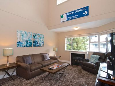 Photo for Fully REMODELED top Floor unit with LOFT- Base of BLACKCOMB MOUNTAIN