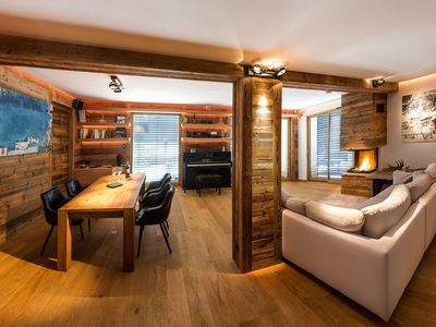 Photo for Luxury apartment combeynot 8 pers with Spa and Sauna 5 minutes from the slopes of Serre-Chevalier