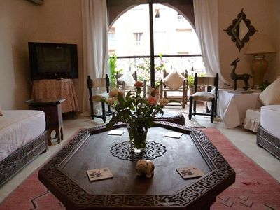 Photo for 3BR Apartment Vacation Rental in Marrakesh, Marrakesh-Tensift-El Haouz