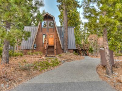 Photo for Tahoe Park Adventure: Fireplace, BBQ, Private Deck