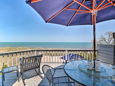 Photo for NEW! Lakefront Family Retreat - Steps to Beach!