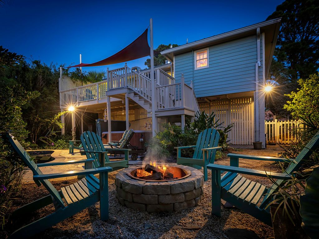 Lovely Tybee Cottage Island Oasis Private Vrbo