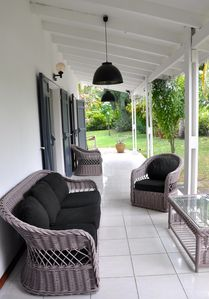 Photo for Villa located in the saline baths 2 minutes walk from the lagoon, air conditioned, quiet