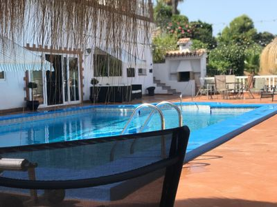 Photo for Modern luxury apartment/pool and hot tub/stunning views/perfect for families