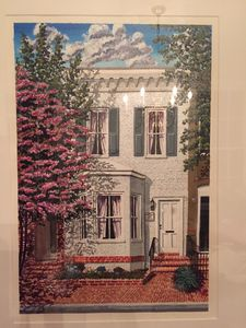 Print of the Casey House