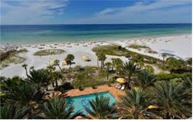 Photo for HYATT, SIESTA KEY: Beautiful beach, family friendly or romantic getaway!