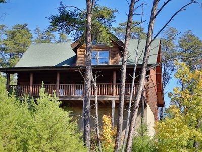 Once you visit this gem of a Pigeon Forge cabin  you won't ever forget it.