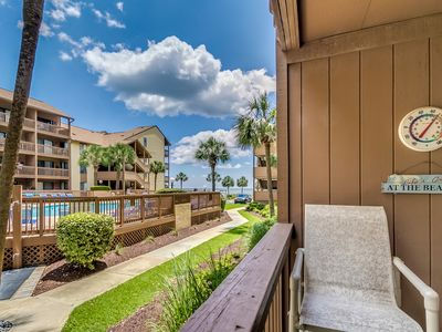 Newly Remodeled Family Friendly Condo- Beautiful Views! Steps to the Beach