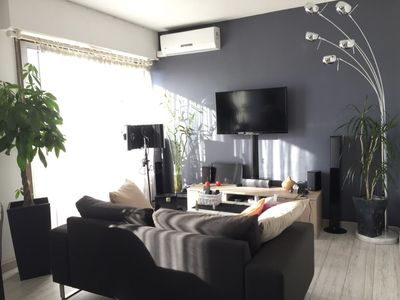 Photo for Large Studio 34 m², parking, swimming pool, terrace