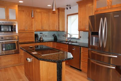 Nicely appointed Kitchen with high end appliances.
