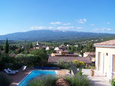 Photo for charming house at the foot of Mont Ventoux