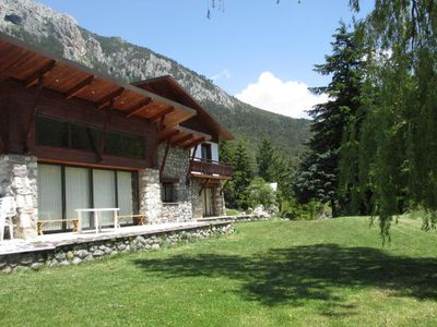 Photo for Mountain chalet in the heart of Mercantour at the foot of La Colmiane resort