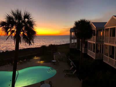 Photo for A South Carolina oceanfront condo on exclusive Fripp Island