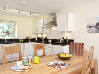 Photo for This fantastic pet friendly,  contemporary property features a south-west facing balcony off the mas