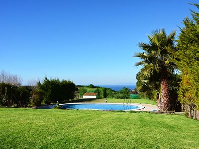 Photo for Beautiful Villa With Swimming Pool and Sea View