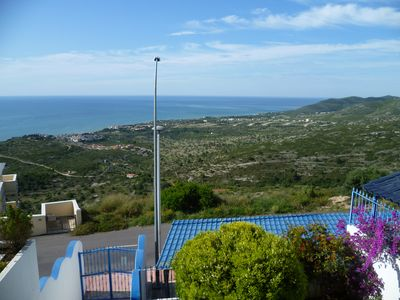 Photo for PENISCOLA apartment 6 pers, swimming pool, terrace PANORAMIC SEA VIEW, WI-FI