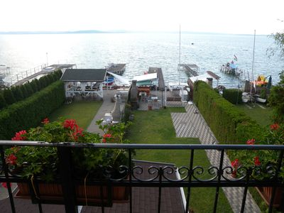 Photo for Holiday apartment directly on the lake with own jetty