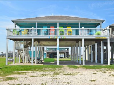 Just steps to the Sand & Surf!  Sleeps 12, with 2 Master Suites! Perfect Rental!