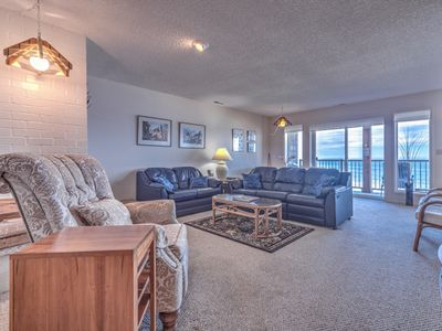 Photo for Oceanfront Condo with Access to Indoor Pool, Sauna and Game Room!